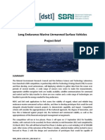 Long Endurance Marine Unmanned Surface Vehicles - Competition Brief
