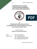 Herramientas metodológicas para la elaboración del plan de desarrollo turístico en la ciudad de Santa Tecla .pdf