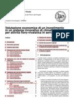 Valutazione economica dei Piani e dei Progetti