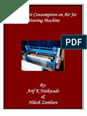 weaving-airjet air consumption | Gas Compressor | Yarn