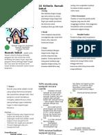Leaflet Rumah Sehat 1