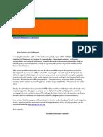ACP Observatory on Migration Newsletter No Novembre 2012