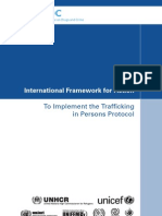 Trafficking in Persons Framework for Action TIP