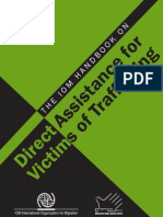 Trafficking in Persons -IOM Handbook for Victims of Trafficking