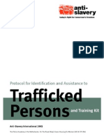 Trafficking in Persons Protocol for Identification and Assistance of Trafficked Persons