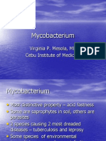 Genus Mycobacterium by Dr. Mesola