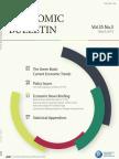 Economic Bulletin (Vol. 35 No. 3)