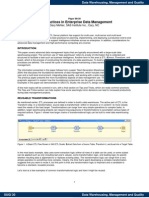 Best Practices in Enterprise Data Management