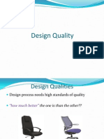 Unit - Design Qualities