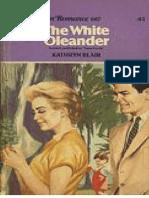 The White Oleander - Kathryn Blair