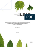 STRENGTHENING LOCUS STANDI IN PUBLIC INTEREST ENVIRONMENTAL.pdf