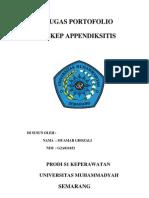askep appendiksitis
