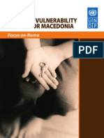 National vulnerability report for Macedonia - focus on Roma
