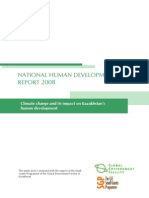 Kazakhstan national human development report 2008