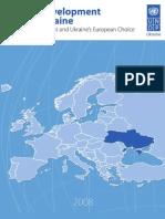 Ukraine human development report 2008