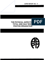 Aapm Report No. 17 the Physical Aspects Of