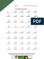 Coleccion de Multiplicaciones y Dividsiones Orientacionandc3bajar