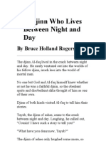 The Djinn Who Lives Between Night and Day