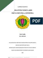 CP2 Keratitis Dini Fadilla ^^