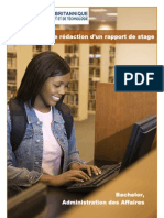 Guide Redaction Rapport Stage