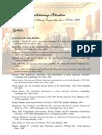 Bibliography American Revolutionary Literature