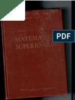 Matematici Superioare- Romulus Cristescu