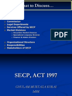 Secp Act, 1997 New Ppt