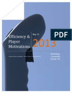 Efficiency & Player Motivations