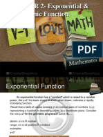 CHAPTER 2- Exponential & Logarithmic Function