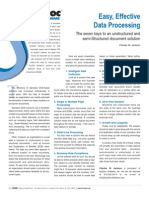 Easy, Effective Data Processing