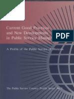 Commonwealth Secritariat (1995) Profile of Malasia