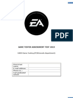 Last Name, First Name- EmailTest Game Tester PC&Console