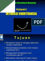 Intubasi Endotrakeal