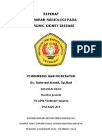 103317695 Referat Gambaran Radiologis Pada Chronic Kidney Disease