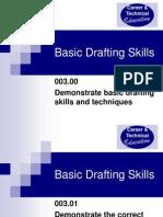Unit C Basic Drafting Skills Intro