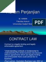 Hukum Kontrak