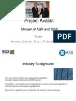 Merger of SGX-ASX
