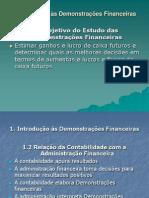 Aula Demonstrativos Financeiros - Fluxo Caixa 1