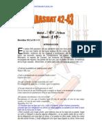 Parashat Matot-Masei # 42-43 Jov 6013