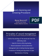 2007 Sa Sawma Wound Cleansing and Dressing Procedure Nov 07