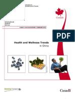 Health Welness Trends China