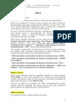 Direito Constitucional - Aula 01 Ok