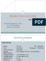 FRAKTUR GALEAZZI