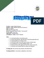 English Plan