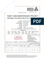 Tank Lifting Calculations