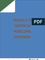 Modulo IV Curso Gerencia Municipal