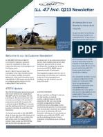 Scott's - Bell 47 Q2 2013 Newsletter