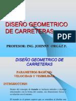 DISEÑO GEOMETRICO DE CARRETERAS