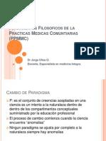 Fundamentos Filosoficos de La Practicas Medicas Comuntiarias (