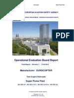 EASA Report-OEB-Final-Report-Eurocopter_Super Puma Fleet Including (C1eL1e)- 15 02 13 - EC+Jms